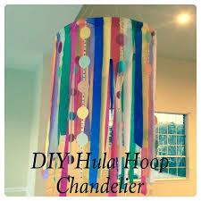 String Chandelier Diy Diy Hula Hoop Chandelier Inspired Parties