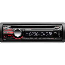 sony xplod cdxgt25mpw car cdmp3 receiver with aux in walmart com