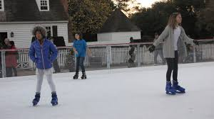 colonial williamsburg is prepared to open its new ice rink next