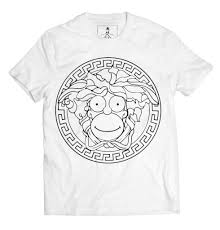 designer t shirt homer medusa fashion designer t shirt xqste clothing