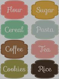 free sticker label templates awesome kitchen label set 1 my favorite free printables free printable kitchen label set 1