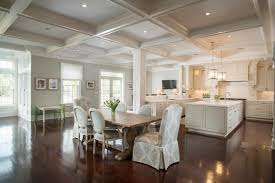 restoration hardware kitchen island traditional kitchen with box ceiling hardwood floors in daniel