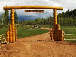 log ranch gate driveway gates pinterest ranch logs and gates