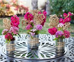 easy centerpieces 16 easy flower tin can centerpiece designs top unique