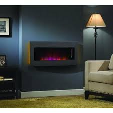 Wall Electric Fireplace Fire Sense 30 In Wall Mount Electric Fireplace In Black 60757