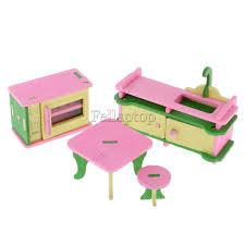 Dollhouse Kitchen Furniture Furniture Dolls Miniatures U0026 Houses Dolls U0026 Bears