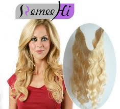 Can You Dye Halo Hair Extensions by Secret Halo Hair Extensions Invisible Wire Flip Remy Hair Wavy