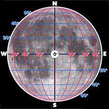 Coordinates Map Selenographic Coordinates Wikipedia