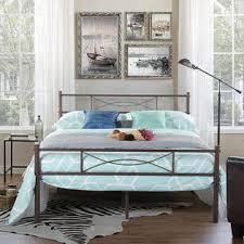 cheerwing full metal bed frame platform base mattress foundation