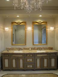 gold bathroom wall mirrors home