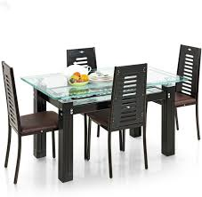 6 Seater Round Glass Dining Table Indian Dining Table 6 Chairs Indian Hub Dining Table Set With 6