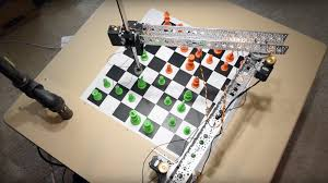 Diy Chess Set The Raspberry Turk Is A Diy Chess Robot With Instructions To Build