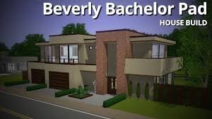 Where Is The Bachelor Mansion The Sims 3 House Building Beverly Bachelor Pad Base Game Youtube