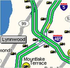 wsdot seattle traffic map choose your way bellevue