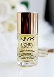 Serum Nyx honey dew me up nyx primer and serum thirteen thoughts
