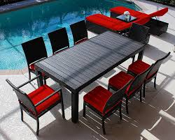 red patio furniture sets home design inspiration ideas and pictures