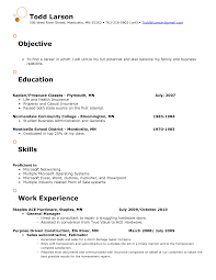Sample Resume Objectives For Mechanics by 100 Resume Objective Mechanic Food Science Resume Example