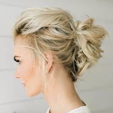 Hochsteckfrisurenen Selber Machen Mittellange Haar Einfach by Lässige Hochsteckfrisuren Für Mittellange Haare 12 Tolle Styling
