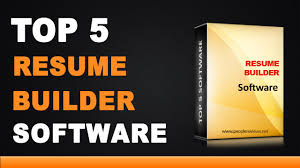 Best Online Resume Builder Reviews best resume builder software top 5 list youtube