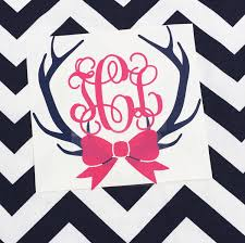 antler monogram decal with bow vine monogram car decal hunting car antler monogram decal with bow vine monogram car decal hunting car decal girly hunting decal car window monogram with bow vinyl decal