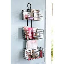 Hanging Baskets For Bathroom Storage Decor Accessories Helpful Handy Hanging Baskets Wisteria