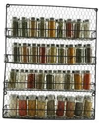 wall mounted kitchen storage cupboards 4 tier metal spice rack wall mount kitchen spices organizer pantry cabinet hanging herbs seasoning jars storage closet door cupboard mounted holder