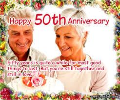 greetings for 50th wedding anniversary 50th anniversary wishes wishes greetings pictures wish