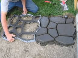 Quikrete Paver Mold by A Beautiful Cobblestone Project For Any Outdoor Space Outside