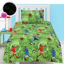 Dragonfly Bedding Queen Glow In The Dark Footy Comforter Set Double By Happy Kids