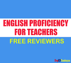 reviewer for test of english proficiency for teacher applicants
