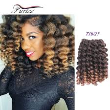 wand curled hairstyles premiun twist jump wand curl crochet braids hair extensions ombre
