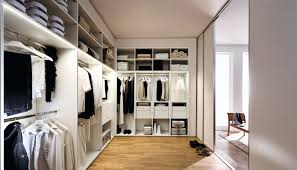 modular walk in wardrobe contemporary lacquered wood custom