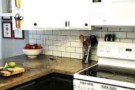 cost to install tile backsplash white kitchen subway tile cost