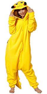Pikachu Halloween Costume Men Charmander Men Women Unisex Animal Sleepsuit Kigurumi