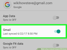 contact sync android how to sync android contacts with gmail 5 steps with pictures