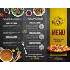 restaurant brochure template restaurant brochure template u2014
