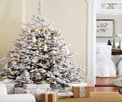 white christmas trees decorating ideas best images collections