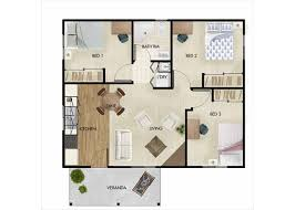 Two Bedroom Granny Flat Floor Plans Superior 60m2 Granny Flat Floor Plans For 1 2 And 3 Bed Homes