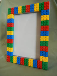 legor picture frame as party gift for goody bag lego party