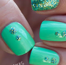 43 green and silver nail designs picsrelevant