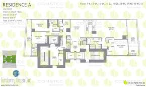 turnberry ocean club floor plans