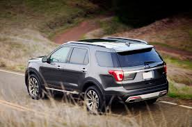Ford Explorer Towing Capacity - 2016 ford explorer review