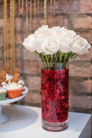 Vase Decoration For Christmas by Best 25 Cranberry Centerpiece Ideas On Pinterest November 1st
