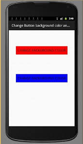 android color android code change button background color and text color on