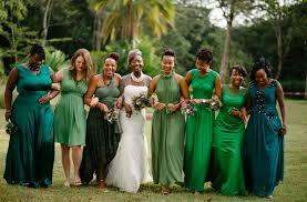 31 real life bridal parties who nailed the mix u0027n u0027 match look