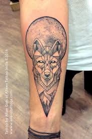 35 astonishing geometric wolf tattoos amazing ideas