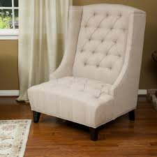 White Leather Accent Chair Elegant Tall Accent Chairs Furniture Inspirations Also Pictures