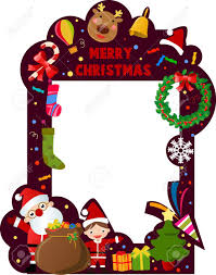 merry frame royalty free cliparts vectors and stock