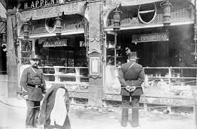 file german shop smashed by mob loc jpg wikimedia commons