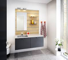 beautiful and durable bathroom model concept